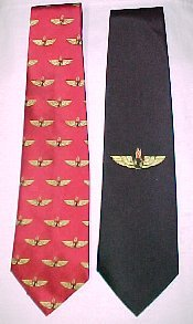 Red AO Tie