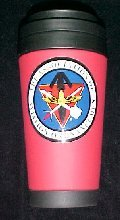 Red AAO Travel Mug