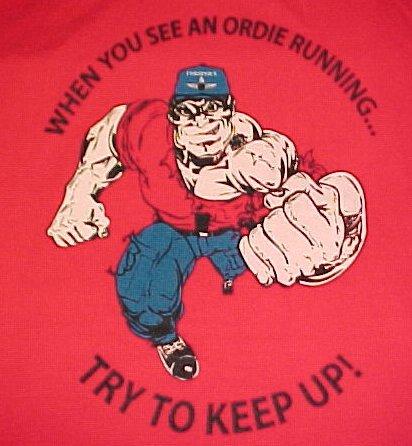 Red T-Shirt - Ordie Running