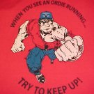 Red T-Shirt - Ordie Running