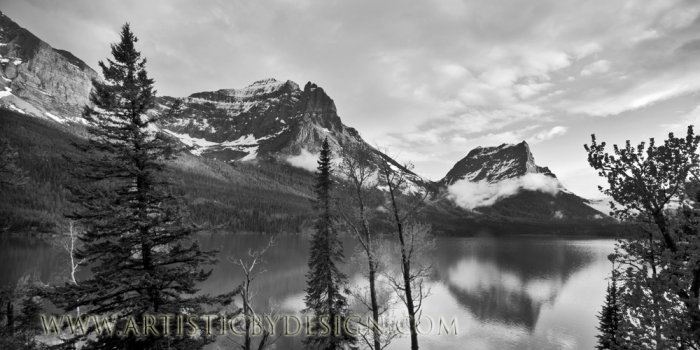 """Majestic Reflections - 10""""x 20"""" Signed Print"""