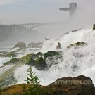 "At the Base of American Falls - 20""x 30"" Signed Print"