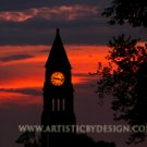 """Fiery Skies at 9:17 - 20""""x 30"""" Signed Print"""