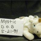 MYSTIC THE WHITE UNICORN BEANIE BABY