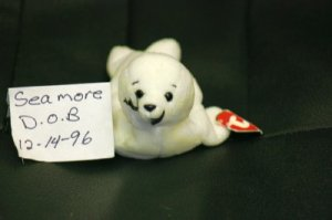 SEAMORE THE SEAL BEANIE BABY