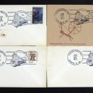 1976 Freedom Train Lexington Kentucky Envelope FDI Set