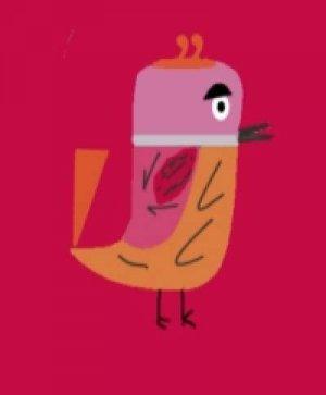 Camilla- Sabby's Birds - Original Artwork - Sableux Peut-être-