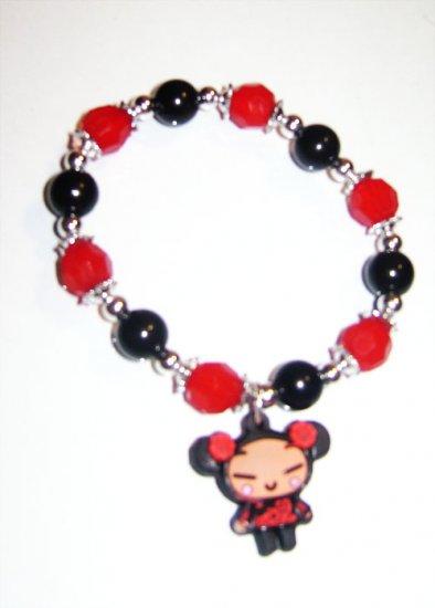 Elastic Red Pucca Bracelet