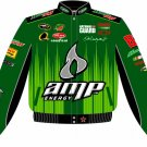 2008 DALE EARNHARDT JR. / AMP ADULT GREEN TWILL JACKET