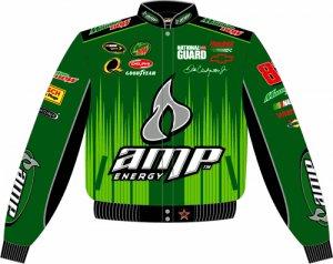 2008 DALE EARNHARDT JR. / AMP ADULT GREEN TWILL JACKET
