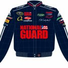 2008 DALE EARNHARDT JR. / NATIONAL GUARD ADULT BLUE TWILL JACKET