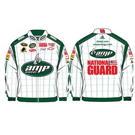 2008 Dale Earnhardt Jr. Mens AMP/Nat.Guard Twill Uniform Jacket