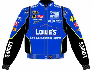 2008 JIMMIE JOHNSON / LOWE'S ADULT COLOR TWILL JACKET