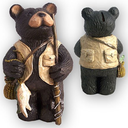 Bear Fishing Bank
