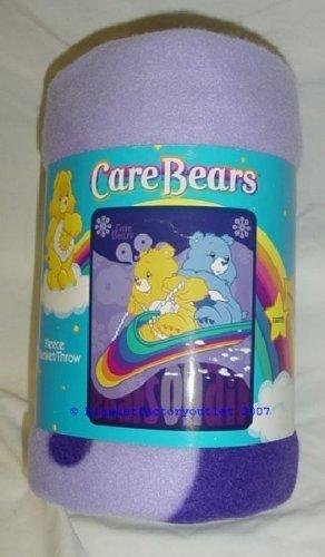 Care Bears Air Bears Fleece Blanket Officially Licensed NEW