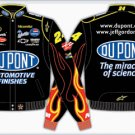 2008 JEFF GORDON  DU PONT KIDS BLACK TWILL JACKET
