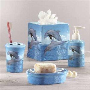Dolphin Bath Set