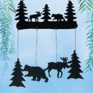 Moose And Bear Windchime