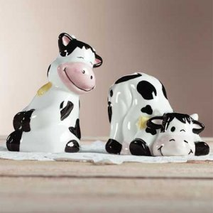 Cow Salt And Pepper Shaker