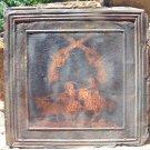 Antique Ceiling Tin Wall Tile Western Cowboy Art Kitchen Backsplash PP