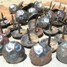 50 Steel Hammered Clavos Decorative Metal Nails Heads Door Furniture Craft 1 in