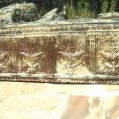 Antique Victorian Urn Ceiling Tin Panel Wall Tile FRAMED 0578 ec
