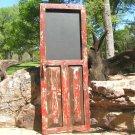 old style Rustic Chalkboard Door Message board ec