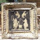 Antique Ceiling Tin Wall Tile western Art Kitchen Backsplash Cowboys TT ec