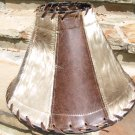 Cowhide Leather Western Lamp Shade 0715 ec