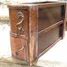 Old Wooden Treadle Sewing Machine Drawers WITH Housing 2220 bz