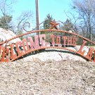 Metal Welcome to the LAKE Sign Wall Entry Gate EXTRA LARGE 56 1/2 inch ec