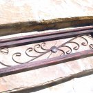 Scrolled iron wood Architectural Wall Hang 1041 ec