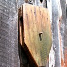 Old Handmade Wooden Wheel block tackle pulley ec