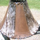 Cowhide Leather Lamp Shade 0133 ec