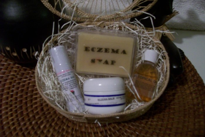 ECZEMA/PSORIASIS TREATMENT BASKET-7 items for $$49.99 WOW!!