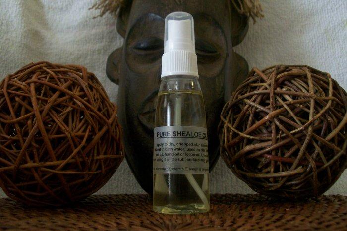 SHEA -N- ALOE SHEALOE OIL - DEEP moisturization for your skin- VEGAN shea butter