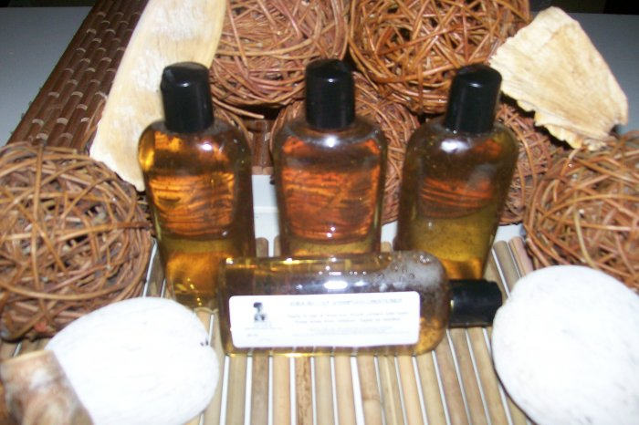 AFRICAN SHEA BUTTER SHAMPOO PLUS CONDITIONER-for normal to oily hair, herbal and vitamin fortified