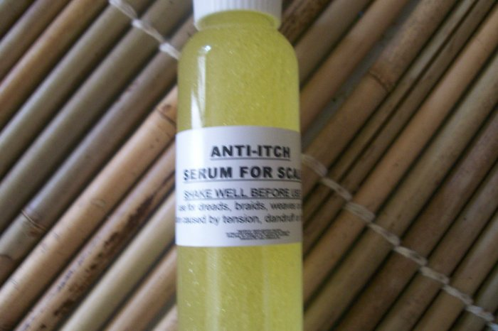 ANTI-ITCH SERUM FOR SCALP® -14 ingredients to NATURALLY stop itching in scalp, shea butter
