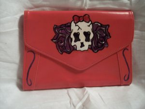 Skull and Roses clutch