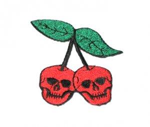 Cherry Skull Patch