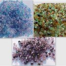 300 Vintage 3mm 3 Color Mix Fire Polish Czech Glass Beads