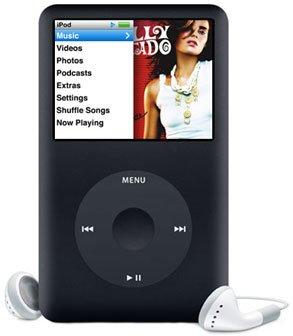 Apple Ipod Classic 160GB MB150LL/A Black