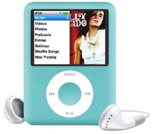 Apple 8GB iPod nano � Blue