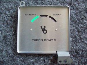 Buick V6 Turbo factory guage face