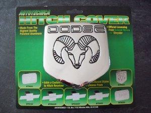 Dodge Ram Mopar hitch cover