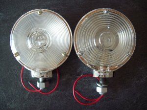 Vintage Signal Stat lamps New