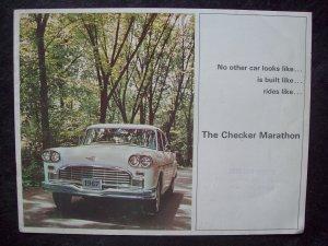 Checker Marathon sales brochure