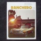 1975 Ford Ranchero sales brochure