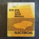 1975 1976 Ford car shop manual Electrtrical