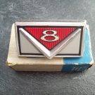 1966 Ford V-8 emblem ornament